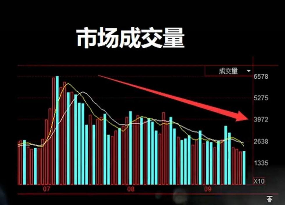 股市交易量下降,但仍然未来可期