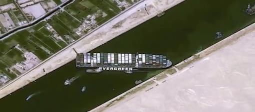 苏伊士运河堵船,全球经济有多痛